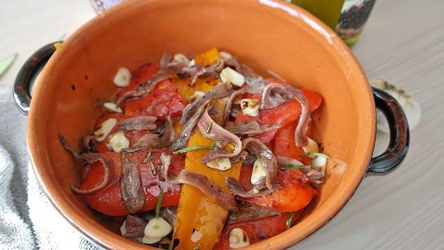 Vaničky s ančovičkami v oleji, recept