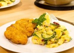 Jak udělat dietní bramborový salát